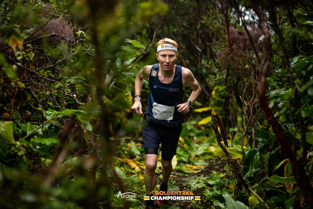 Picture: Going all the way, with sisu. @GoldenTrailSeries   @AzoresTrailRun  @VisitAzores.travel   @Philipp Reiter #GoldenTrailChampionship